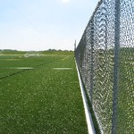 Outdoor Turf Fields fence view